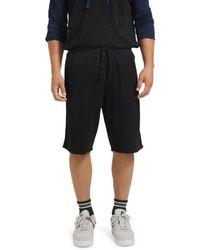 ATM Piqué Sweat Shorts - Black