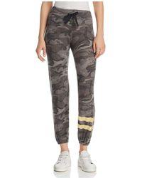 Sundry - Camouflage Foil-stripe Sweatpants - Lyst