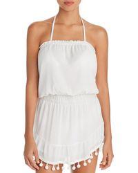Ramy Brook Marcie Mini Dress Swim Cover - Up - White
