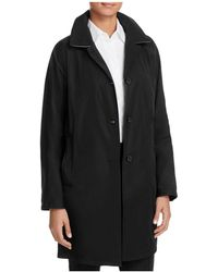Basler Button-front Coat - Black