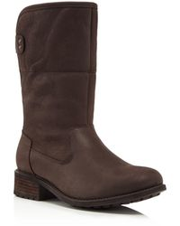 UGG - Aldon Water Resistant Leather Boots - Lyst