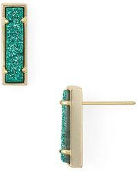Kendra Scott - Lady Drusy Stud Earrings - Lyst