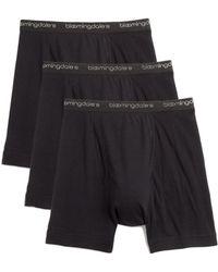 Bloomingdale's Boxer Briefs - Black