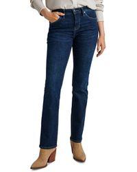 Jag Jeans Eloise Bootcut Jeans In Night Breeze - Blue