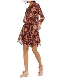 Scotch & Soda   Palm Print Dress   Lyst