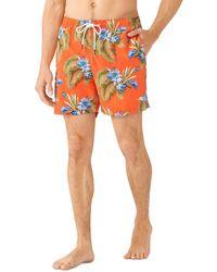 Tommy Bahama Naples Nassau Blooms Swim Trunks - Red