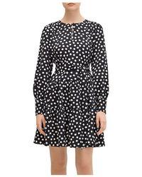 Kate Spade Cloud - Dot Dress - Black