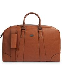 Ted Baker - Ripleey Textured Holdall Briefcase - Lyst