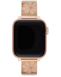 Kate Spade Rose-gold-tone Stainless Steel Mesh 38/40mm Band For Apple Watch® - Multicolour
