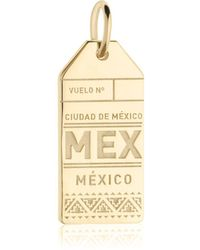 Jet Set Candy - Mex Mexico City Luggage Tag Charm - Lyst