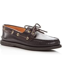 Sperry Top-Sider - Men's Gold Cup Authentic Original Two-eye Leather Boat Shoes - Lyst
