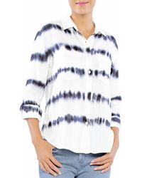 Billy T Sonar Tie Dyed Shirt - Blue
