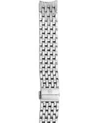 Michele Serein 16 Diamond Watch Bracelet - Metallic