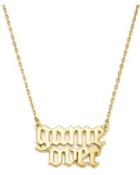 Bing Bang Game Over Necklace