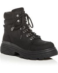 J/Slides Reign Boot Black Waterproof Nubuck