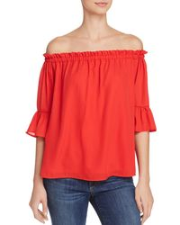 PPLA - Myla Off-the-shoulder Top - Lyst