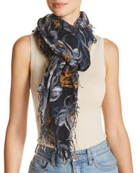 Chan Luu - Painterly Floral Print Scarf - Lyst