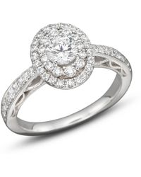 Bloomingdale's - Diamond Engagement Ring In 14k White Gold - Lyst