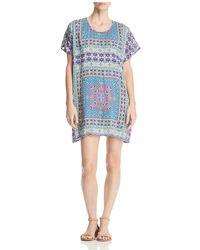 Tolani - Tile-print Tunic Dress - Lyst