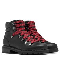 Sorel Lennox Hiker Booties - Black