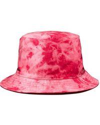 Aqua Tie - Dye Bucket Hat