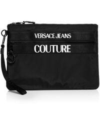 Versace Jeans Couture Macro Logo Pouch - Black