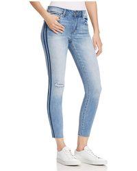 Pistola - Audrey Striped Skinny Jeans In Monaco - Lyst