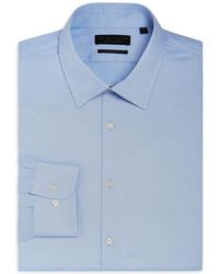 Bloomingdale's - Textured Solid Dress Shirt - Regular Fit - Lyst