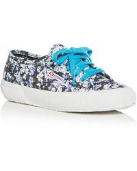 Mary Katrantzou Superga X Low Top Sneakers - Blue