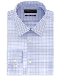 Bloomingdale's - Plaid Slim Fit Stretch Dress Shirt - Lyst