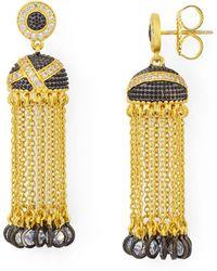 Freida Rothman - Tassel Earrings - Lyst