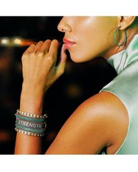 Freida Rothman Midnight Pavé Bangle Bracelet - Multicolour