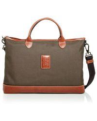 Longchamp Boxford Nylon Briefcase - Brown