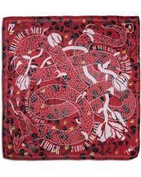 Zadig & Voltaire Delta Viper Print Stole - Red