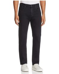 7 For All Mankind - Adrien Luxe Sport Slim Fit Jeans In Vyrin Black - Lyst