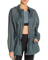 Aqua Athletic Lightweight Hooded Jacket - Green