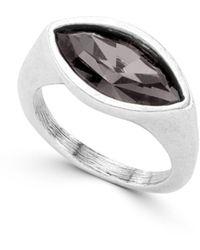 Uno De 50 Pop Eye Ring - Metallic