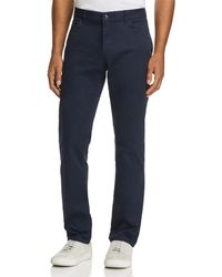 Michael Kors Parker Five - Pocket Stretch Straight Fit Trousers - Blue