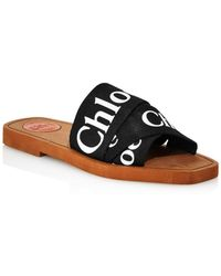Chloé Sandals Woody - Black