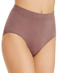 Wacoal B.smooth Briefs - Brown