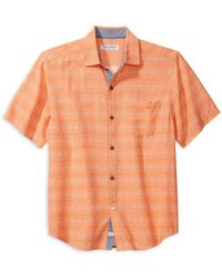 Tommy Bahama - Coconut Point Geo Regular Fit Camp Shirt - Lyst