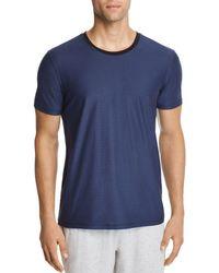 Daniel Buchler - Lounge Short-sleeve Tonal Striped Tee - Lyst