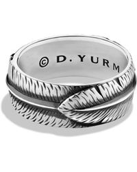 David Yurman | Frontier Band Ring | Lyst