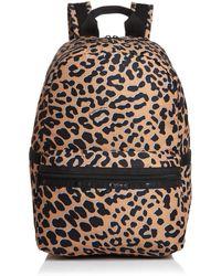 LeSportsac Jasper Leopard Backpack - Black