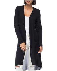 B Collection By Bobeau - Addison Sheer Knit Duster Cardigan - Lyst