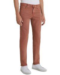 AG Jeans - Tellis Slim Fit Jeans In 7 Years Sulfur Worn Copper - Lyst