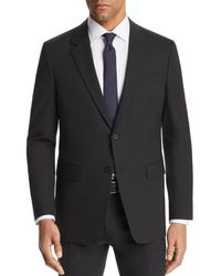Theory Chambers Slim Fit Suit Jacket - Black
