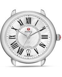 Michele - Serein 16 Diamond Dial Watch Head - Lyst