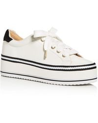 Joie Dabnis Stripe Trainers - White