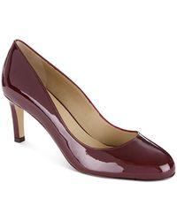 Hobbs - Women's Sophia Patent Leather Court Pumps - Lyst